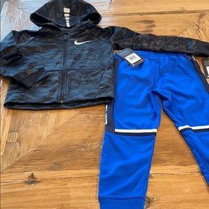 NEW Nike Elite Kids 2pc Hoodie & Joggers Bundle